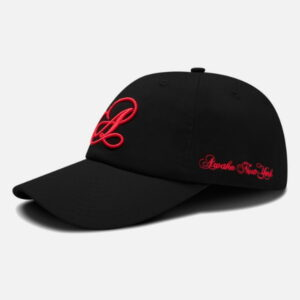 Awake Script Logo Hat Black 1
