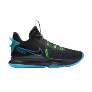 Nike LeBron Witness 5 Black Light Blue Fury