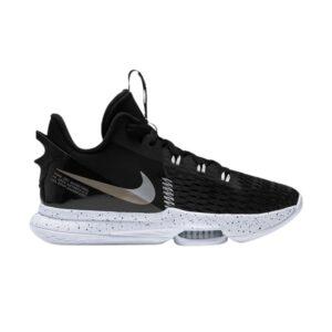Nike LeBron Witness 5 Black Metallic Silver
