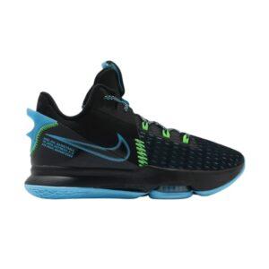Nike LeBron Witness 5 EP Black Light Blue Fury