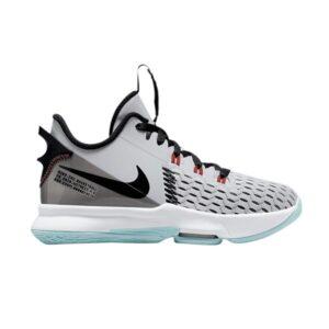 Nike LeBron Witness 5 GS Pure Platinum Light Dew