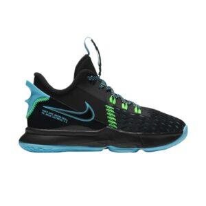 Nike LeBron Witness 5 PS Black Light Blue Fury