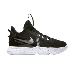 Nike LeBron Witness 5 PS Black Metallic Silver