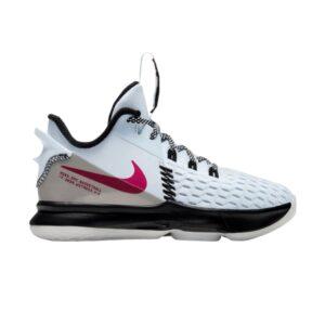 Nike LeBron Witness 5 PS Football Grey Fireberry