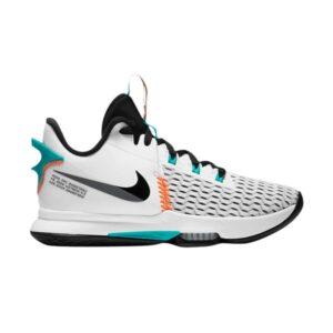 Nike LeBron Witness 5 White Clear Jade